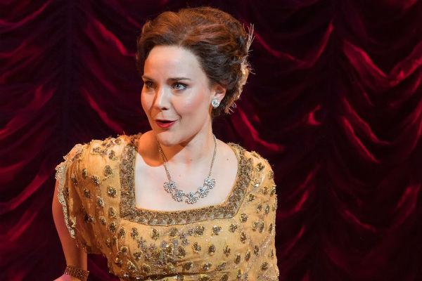 Natasha Barnes as Fanny Brice in Funny Girl