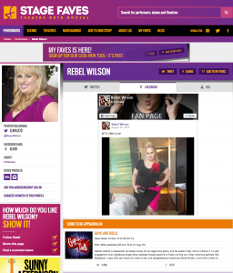 Find social media feeds for Rebel Wilson & all the Guys & Dolls cast on www.stagefaves.com