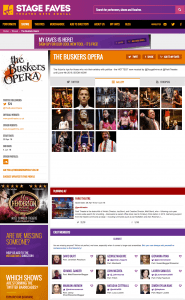 FInd all social media feeds for The Buskers Opera and its cast on www.stagefaves.com