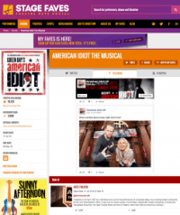Get all social media for American Idiot & its cast on www.stagefaves.com