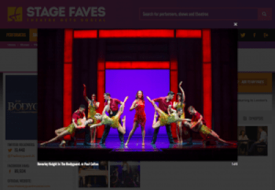 View production shots + get all social media for The Bodyguard & its cast on www.stagefaves.com
