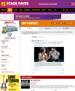 Get all social media for HALF A SIXPENCE & its cast on www.stagefaves.com