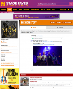 Get all social media for THE MGM STORY & its cast on www.stagefaves.com