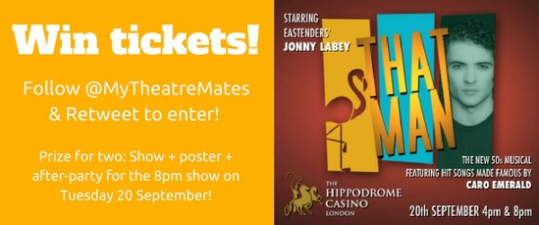 Follow @MyTheatreMates & Retweet for a chance to win!