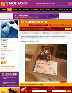 Get all #Phantom30th tweets & social media for the cast on www.stagefaves.com