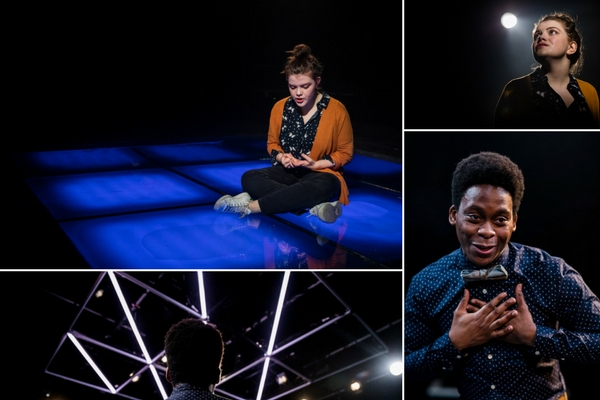 Georgie Henley & Tyrone Huntley starred in Philip Ridley's ANGRY