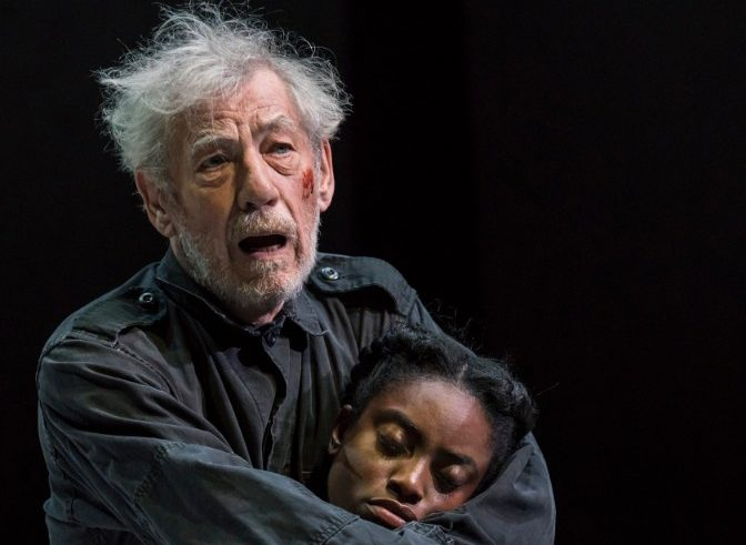 Ian McKellen in King Lear at the West End's Duke of York's Theatre in 2018. © Johan Persson
