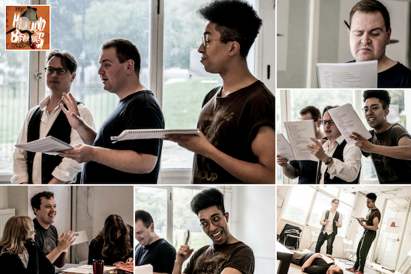 Click here to view our full bumper gallery of The Hound of Baskervilles rehearsal photos