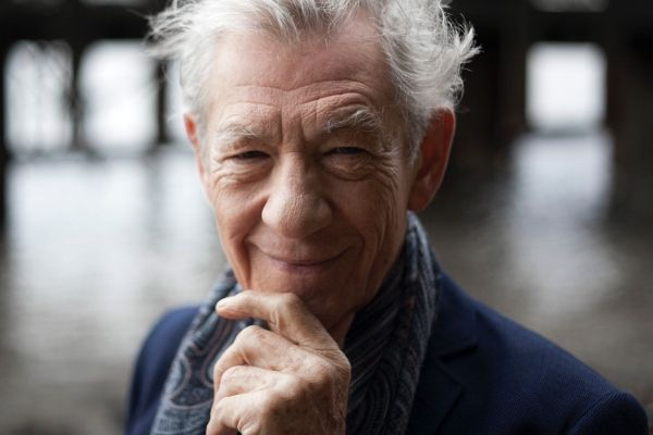 Ian McKellen provides the voice of the demon in the stage version of The Exorcist
