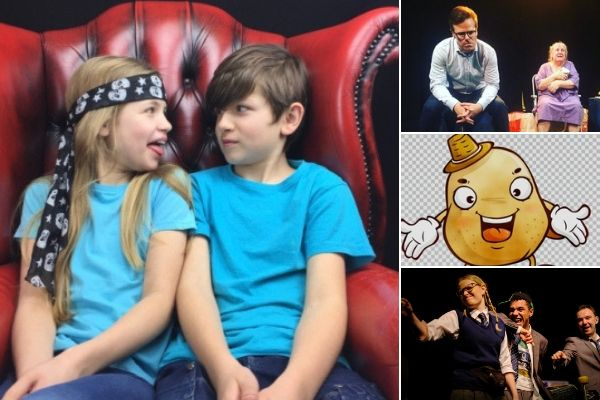 Families making shows together at 2019 Camden Fringe