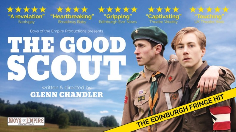 The Good Scout transfers from Edinburgh Fringe to London's Above the Stag Theatre