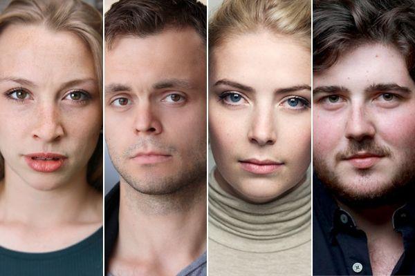 The 2019 cast of Eigengrau at Waterloo East Theatre