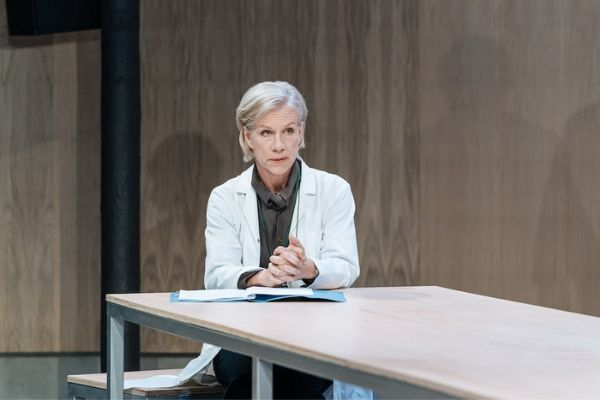 Juliet Stevenson in The Doctor at the Almeida Theatre
