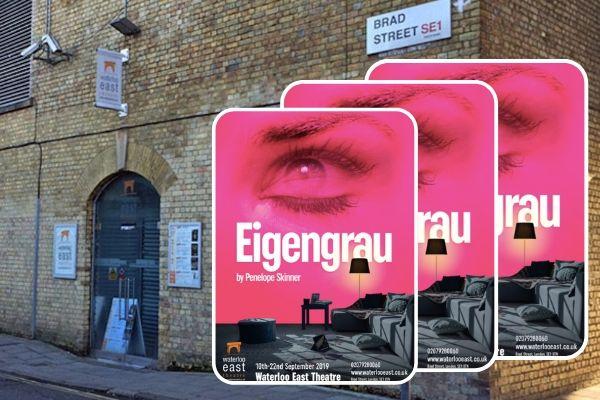 Penelope Skinner's Eigengrau is revived at London's Waterloo East Theatre 10-22 September 2019