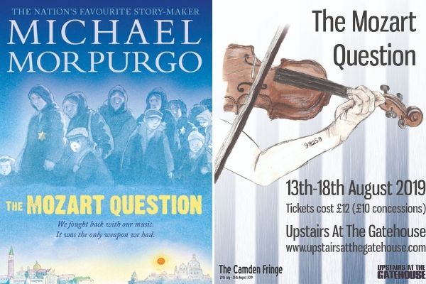 The stage version of Michael Morpurgo's The Mozart Question is regendered at 2019 Camden Fringe