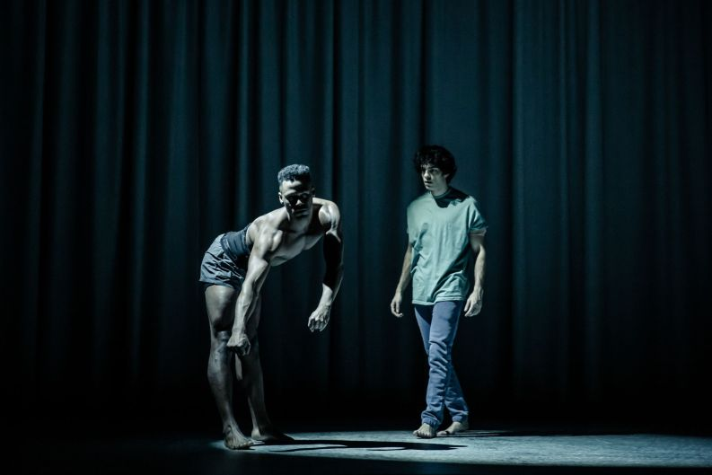 Ira Mandela Siobhan & Ethan Kai in Equus at the West End's Trafalgar Studios. © The Other Richard