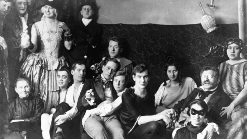 A party at Magnus Hirschfeld's Institute for Sexual Research in Weimar Berlin