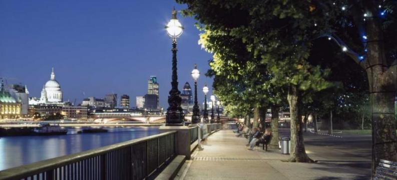London's South Bank at night. © SouthbankLondon.com
