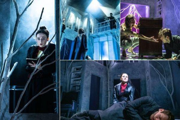 Frankenstein production images