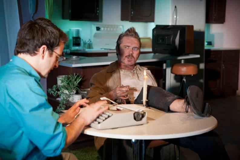 Eugene O'Hare & Alex Ferns in Sam Shepard's True West at Glasgow Citizens Theatre in 2013
