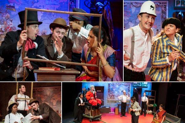 Mercurius Theatre and Drama Studio London present Around the World in 80 Days at Drayton Arms Theatre, London