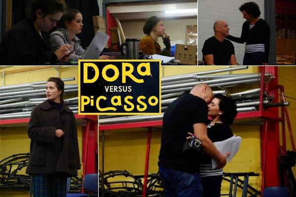 Dora Vs Picasso - Rehearsals - Drayton Arms Theatre - November 2019