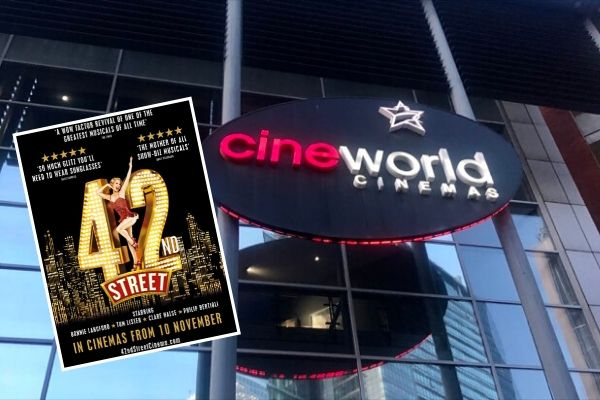 The More2Screen screening of 42nd Street at Cineworld, November 2019
