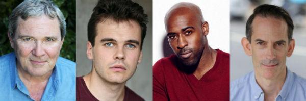 Roger Alborough, Jack Flammiger, Daniel Francis & James Sobol Kelly star in COPS at Southwark Playhouse 15 January-1 February 2020