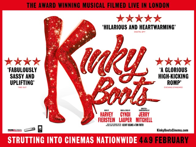 Kinky Boots is broadcast to 650+ cinemas on 4 & 9 February 2020 via More2screen
