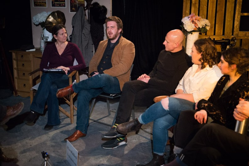 Terri Paddock's post-show Q&A for Arrows & Traps' Chaplin: Birth of a Tramp at London's Brockley Jack Theatre