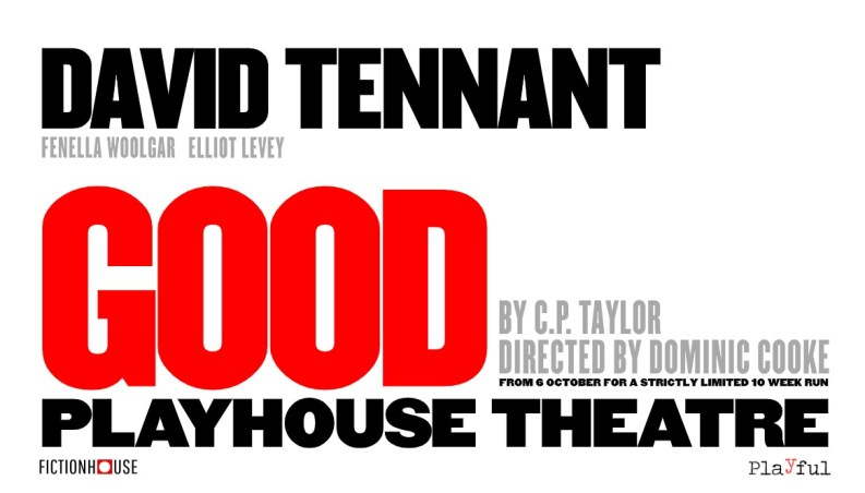 David Tennant stars in C P Taylor's GOOD from 6 October-9 December 2020