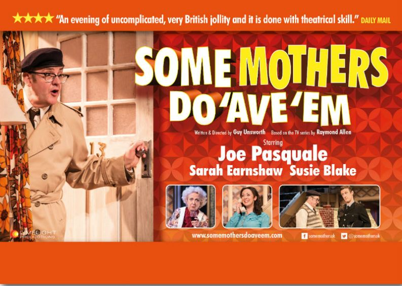 Joe Pasquale stars as Frank Spencer in Some Mothers Do 'Ave 'Em onstage