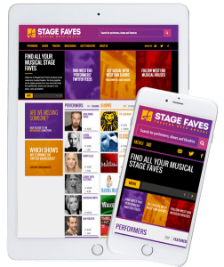 Get social media for nearly 5000 musical theatre performers on www.stagefaves.com