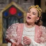 Beth Burrows as Princess Winnifred in Once Upon a Mattress at Upstairs at the Gatehouse