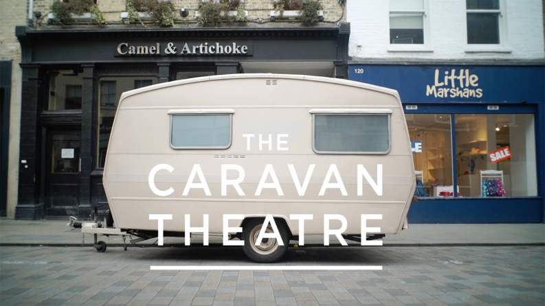 Small Truth's caravan theatre