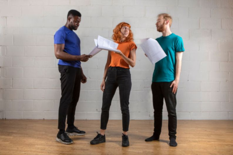 The Actors Centre runs workshops for actors throughout their careers
