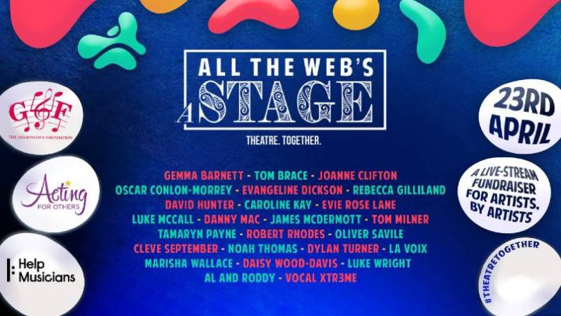 All the Web's a Stage takes place on 23 April 2020