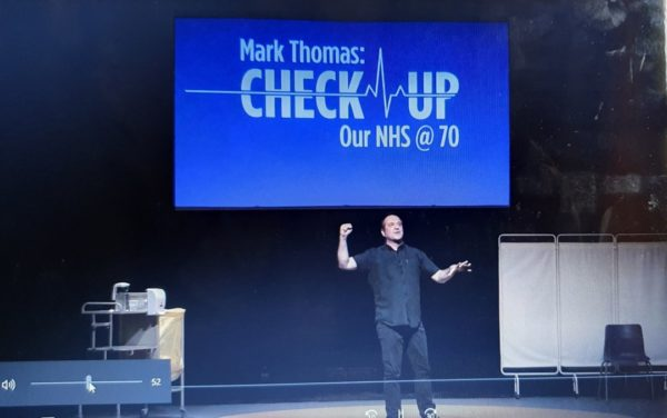 Mark Thomas in Check Up