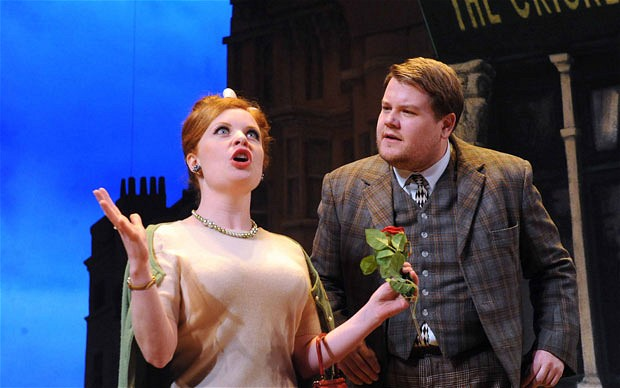James Corden in One Man, Two Guvnors. National Theatre at Home