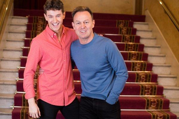 Joseph & the Amazing Technicolor Dreamcoat stars Jac Yarrow and Jason Donovan at the London Palladium
