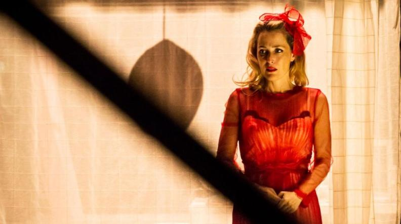 Gillian Anderson in A Streetcar Named Desire at the Young Vic Theatre