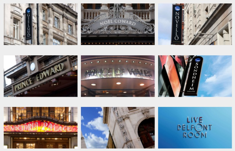 Cameron Mackintosh's 8 West End theatres