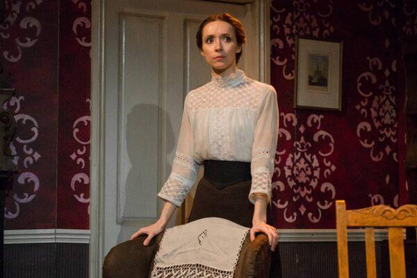 Alix Dunmore in Jane Clegg at the Finborough Theatre