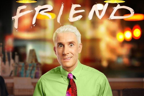 Brendan Murphy is Gunther in FRIEND
