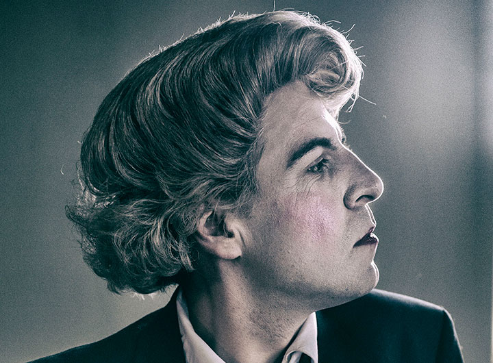 Mark Farrelly as Quentin Crisp in Naked Hope