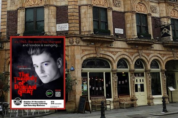 The Tragedy of Dorian Gray transfers to London's Drayton Arms Theatre after Brighton Fringe