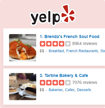 Yelp Reviews Integrated