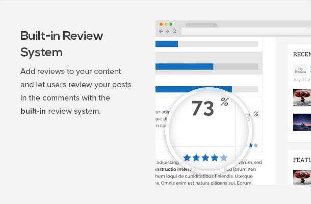 Sistema de valoraciones y reviews de la plantilla