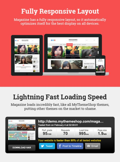 Wordpress Themes Magazine