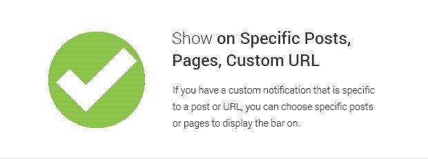 Plugin WP Notification Bars WordPress